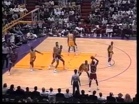 1992-93 NBA r.s  Chicago Bulls-Los Angeles Lakers