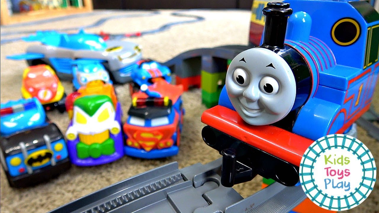 Thomas and Friends Meets the DC SuperFriends Herodrive | Sodor Storytime
