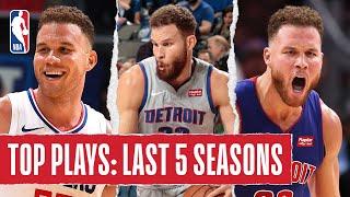 <b>Blake Griffin's</b> TOP PLAYS   Last 5 Seasons
