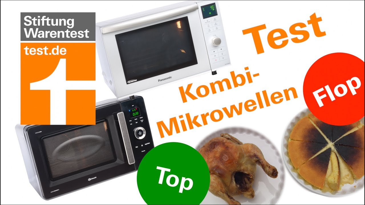 mikrowelle grill stiftung warentest