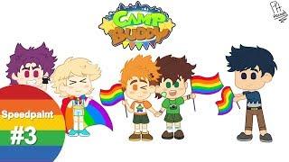 Speedpaint #3 Camp Buddy Pride 🏳️🌈 | Pacooh