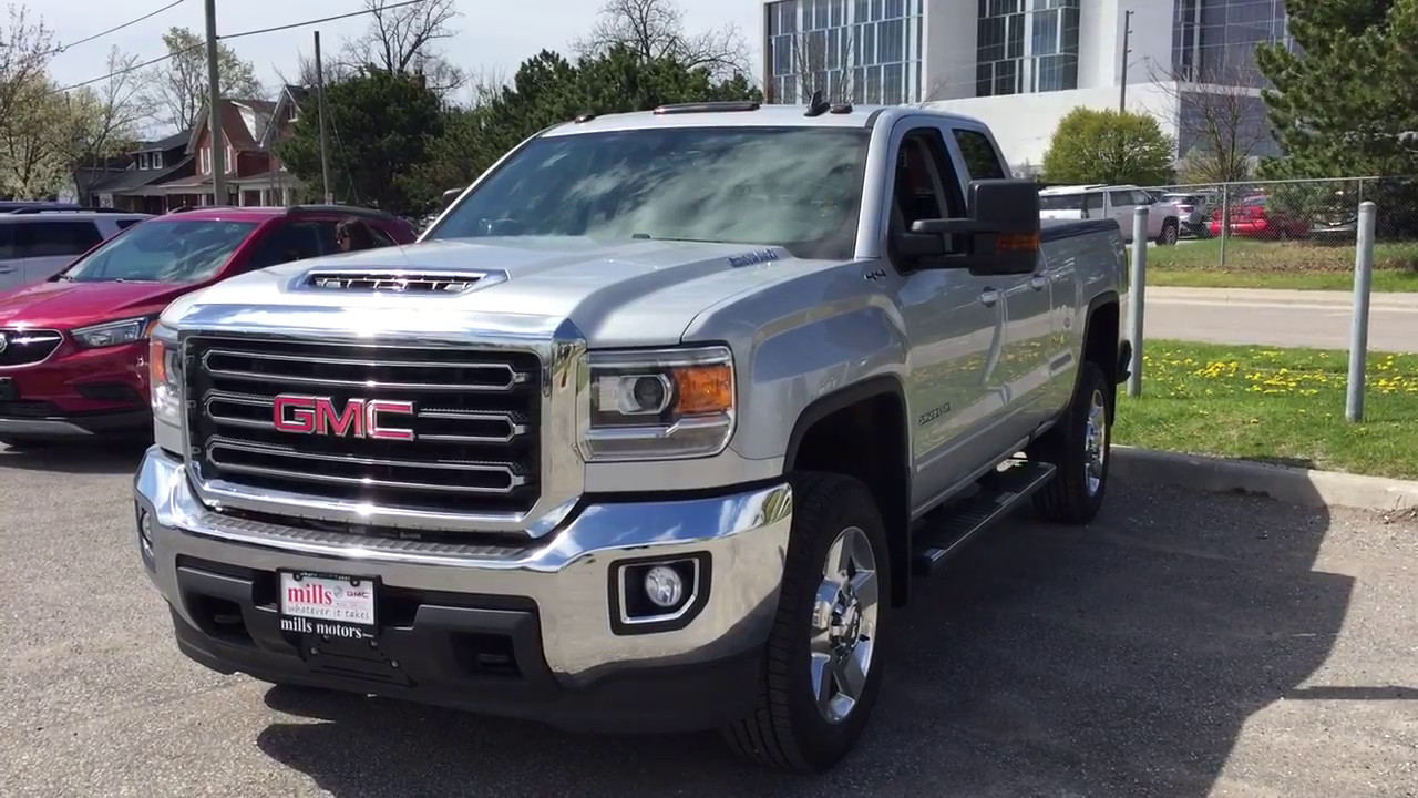 2017 gmc sierra 2500hd sle snow plow prep tonneau cover silver oshawa on stock 171234 youtube. Black Bedroom Furniture Sets. Home Design Ideas