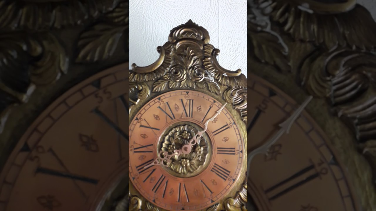 German urgos comtoise wall clock 31 7 2017 youtube german urgos comtoise wall clock 31 7 2017 amipublicfo Choice Image