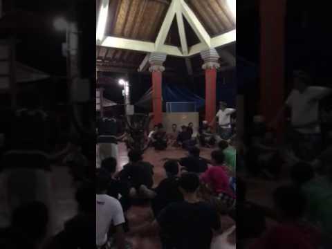 Kecak theater rehearsal in Blahkiuh, Bali