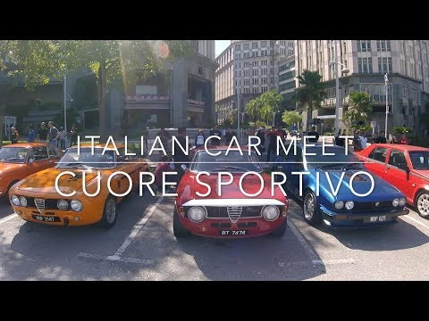 Alfa Romeo celebrates 25 years of the 155 in Malaysia, with