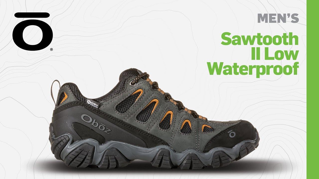 Oboz Sawtooth II Low Waterproof Men