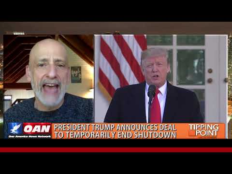 President Trump announces deal to temporarily end shutdown