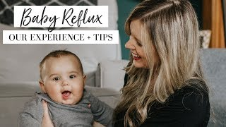 HOW WE CURED BABY'S REFLUX + FAQs | Symptoms, Diet Changes, Breastfeeding, Sleeping, and More!