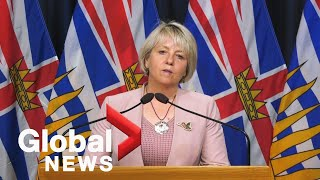 BC health authorities to hold live Thursday COVID-19 rundown|LIVE  | NewsBurrow thumbnail