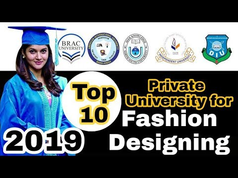 Top Fashion Design And Technology Institutes In Bangladesh 2019 Youtube