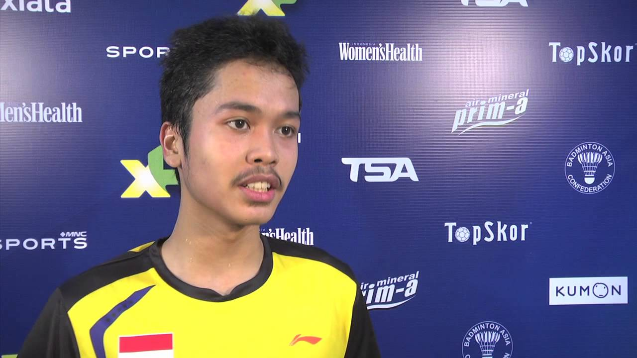 AXIATA CUP 2014 POST MATCH ANTHONY GINTING