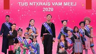 Tub Ntxhais Vam Meej   Trình Diễn Trang Phục   Tết Mông Xuống Phố 2020