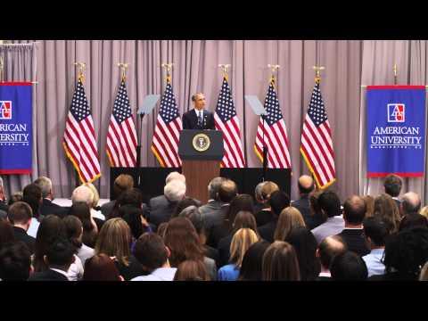 President Obama at American University | The Iran Deal (ENTIRE SPEECH) 4K