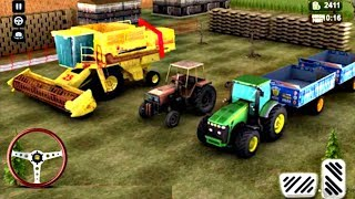 Tractor Farming Simulator 2018 - Animals Cargo Transport Android GamePlay FHD