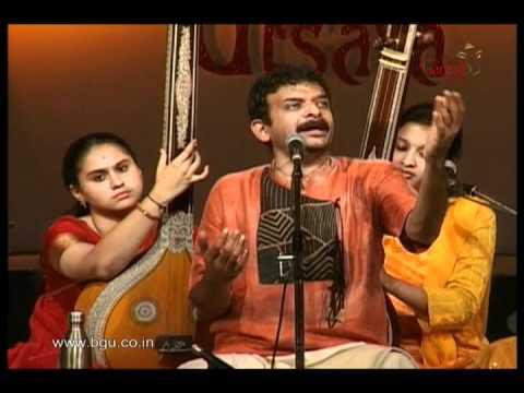 T M Krishna At 49th Bengaluru Ganesh Utsava - Video 1
