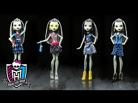 Frankie Stein Fashion Show of the Beast Back-to-School Looks | Monster High
