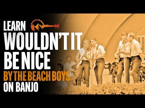 "Beach Boys - ""Wouldn't It Be Nice"" - thebanjomountain.com"
