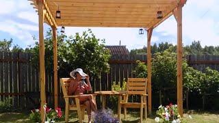 видео Перголы на даче своими руками (фото)