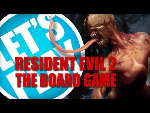 Let's Play: Resident Evil 2 The Board Game