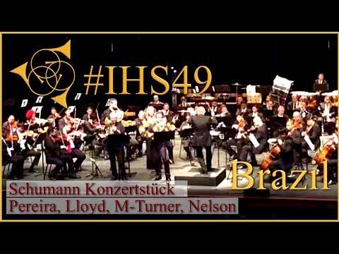 FrenchHorn:Part2 Strauss 1-Neunecker/Schumann Konzertstück:Pereira,Lloyd,M-Turner,Nelsen IHS49Brazil