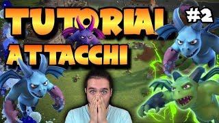 VIDEO TUTORIAL TOP ATTACCHI CON GLI SGHERRI | CLASH OF CLANS #2
