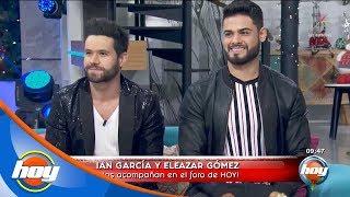 Eleazar Gómez e Ian García presentan el concepto de 'Party Cochon'   Hoy