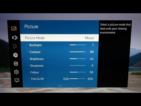 picture-settings-for-samsung-ue40ju6400-4k-tv
