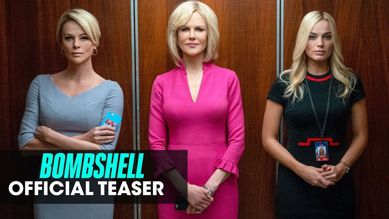 Lionsgate Drops 'Bombshell' Trailer: Margot Robbie, Charlize Theron & Nicole Kidman Take On Roger Ailes