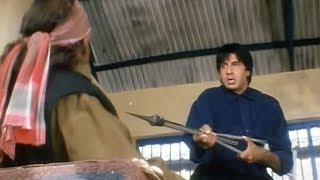 Lal Baadshah thrashes Amrish Puri's goon