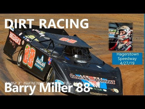 Barry Miller LMS @ Hagerstown Speedway Feature 4/27/19 Part 2