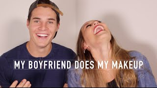My Boyfriend Does My Makeup | Kristin Lauria thumbnail