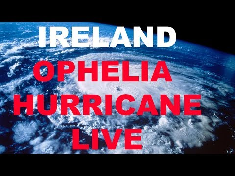 Hurricane Ophelia Ireland Live October 2017 (Dublin)