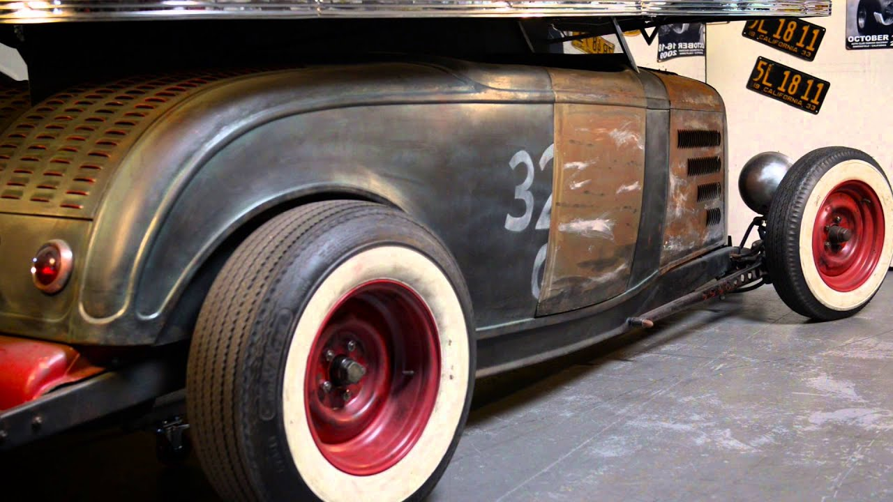 Metal Shaping with Lazze: 1932 Hot Rod Bar with illusionary V8 ...
