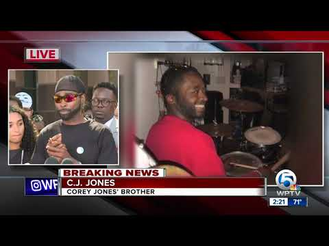 Attorneys for Corey Jones's family holds news conference