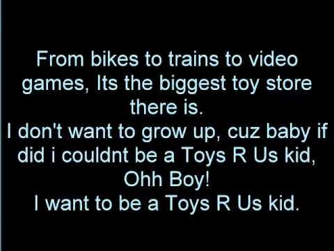 Toys R Us Kid Lyrics 2011 Advert Youtube