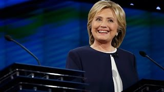 Hillary Confronted in Debate: Will you Drop Out if You're Indicted?