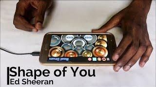 Shape Of You - Ed Sheeran (bvd kult Remix) (Real Drum App Cover) - By Vijay Yadavar.