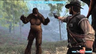 Red Dead Redemption Undead Nightmare Bigfoot Sasquatch HD 720p
