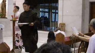 Sr Marie Aimee of Jesus, Taipei.玛利亚修女发永愿