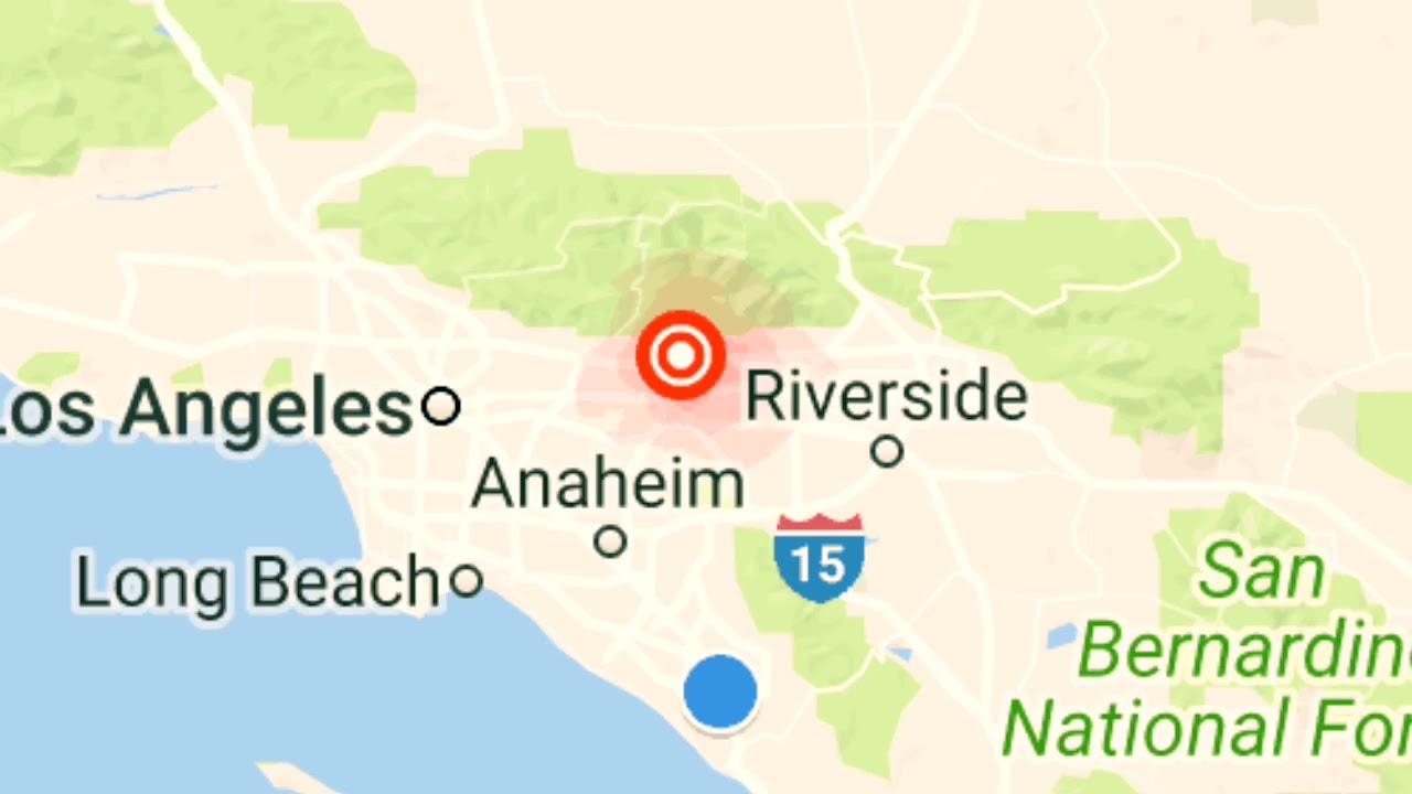 3 1 Magnitude Earthquake Strikes Near La Verne California Youtube