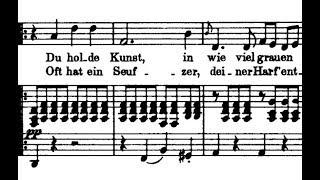 Schubert / Hermann Prey, 1960s: An Die Musik, D. 547 - Leonard Hokanson, piano - Lyrics