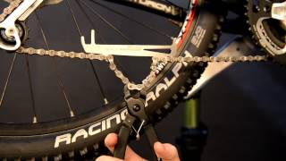 Checking Your Chain for Wear and Replacing the Chain