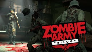 "Nazi Zombie Army HORDE 327 Combo, 956,000 Score! ""Flood of Tears"" Gameplay ""Zombie Army Trilogy"""