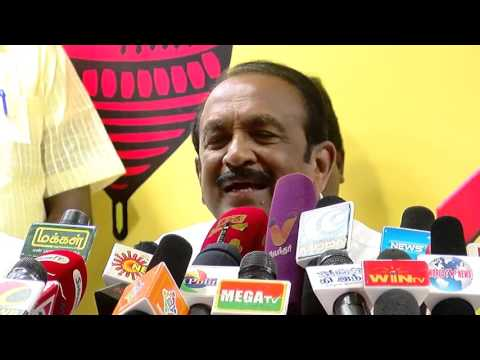 How Cunning Politician Karunanidhi is ? - Stalin is Spliting  Vijayakanth Party - Vaiko  Must Watch