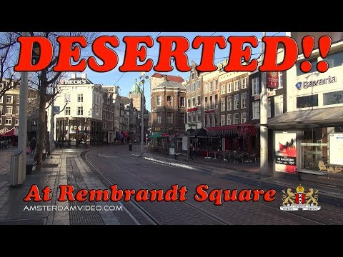 Deserted At Rembrandt Square! • 1.17.15 • Day 1609