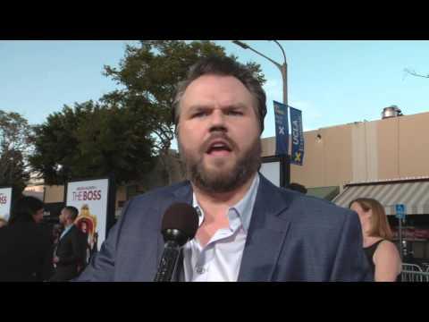 The Boss: Tyler Labine Red Carpet Movie Premiere Interview