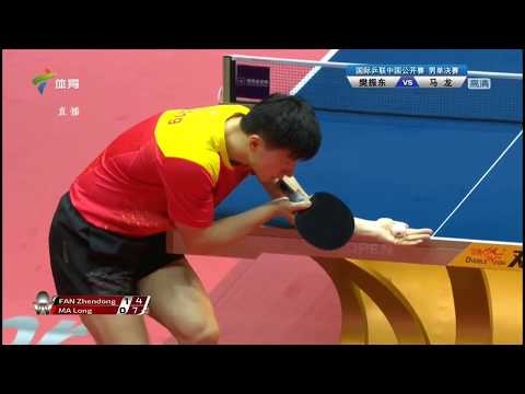 [20180603] Guangdong SPORTS | Ma Long vs FAN Zhendong | MS-F | 2018 China Open | Full Match