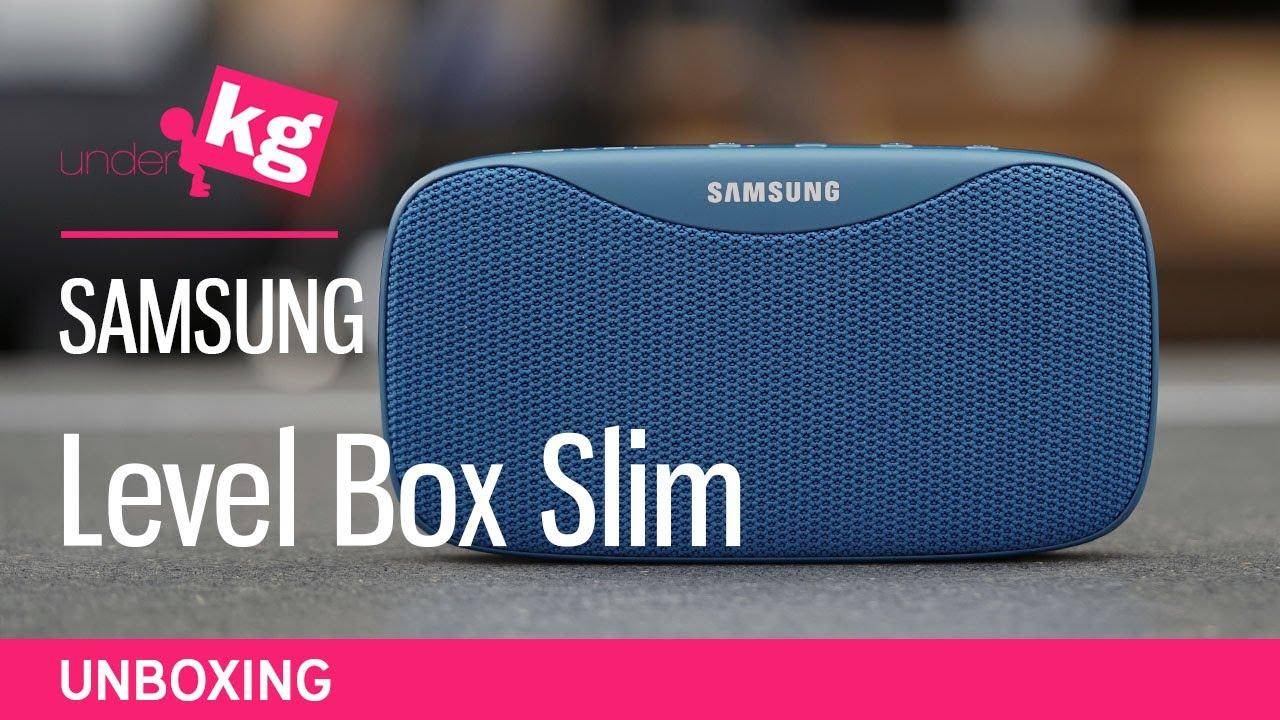 Samsung Level Box Slim Unboxing 4k Youtube