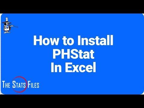 Secret to Installing PHStat Add-in in Excel 2016