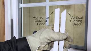 1500 Series Glazing Bead Removal and Installation